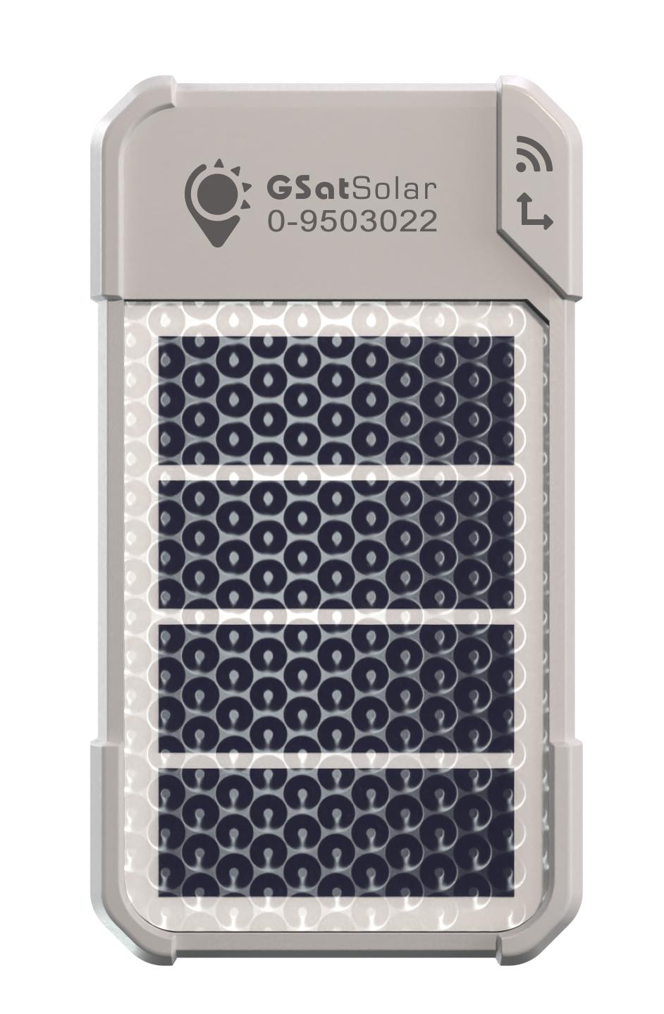 GSatSolar Satellite Tracker - Front