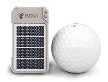 GSatSolar Satellite Tracker - Size Comparison