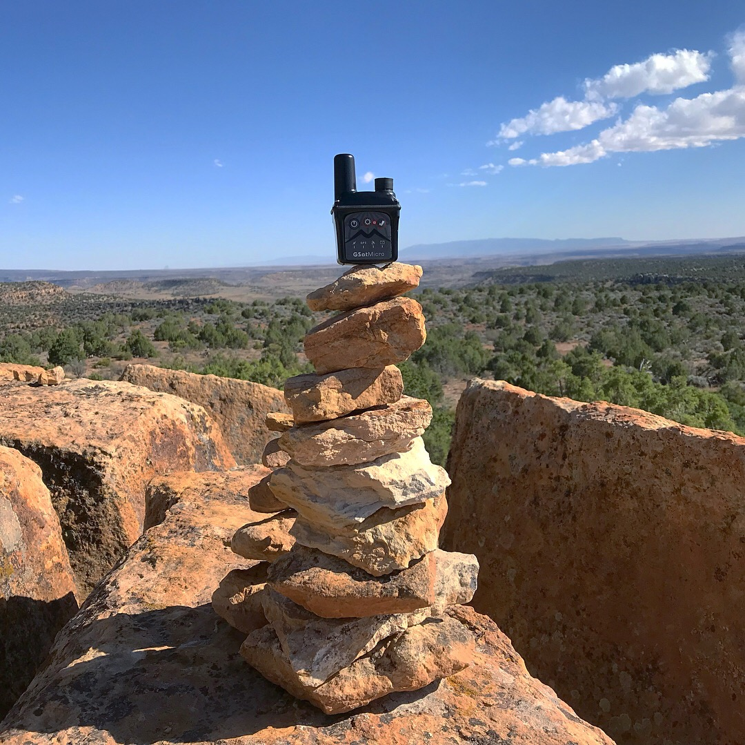 GSatMicro - Tracking at the Canyon of the Ancients, Colorado